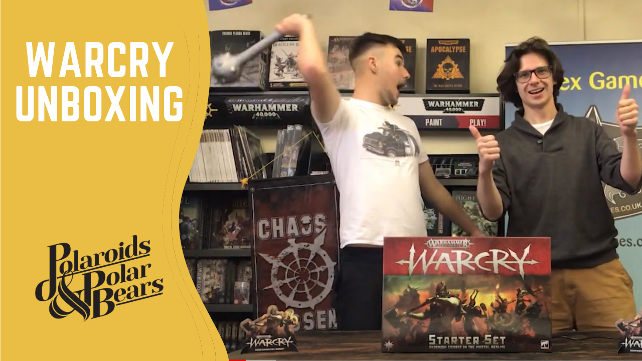 Warhammer Warcry Unboxing