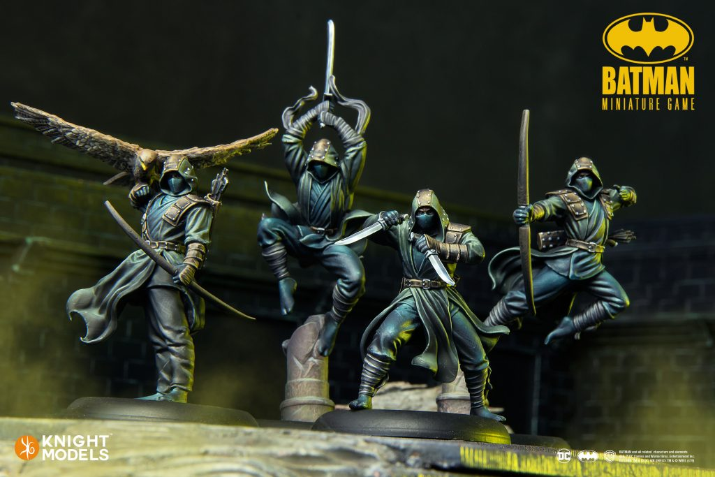 League of Assassins - Batman Miniatures Game