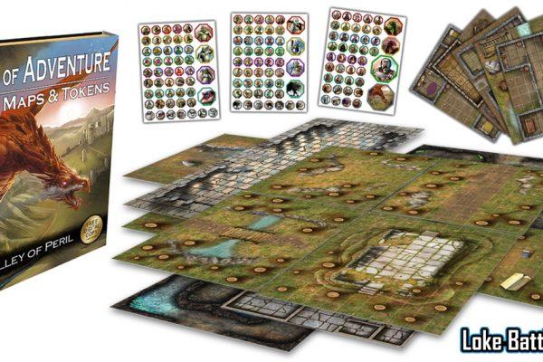 Loke Battle Mats Box of Adventure