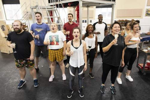 Kinky Boots UK Tour Rehearsal Images