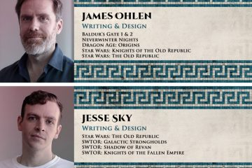 Odyssey of the Dragonlords - James and Jesse
